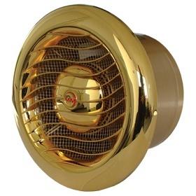 Вентилятор MMotors JSC MM-100 LUX GOLD с позолоченной 24 каратным золотом решеткой