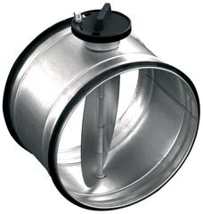 SK / SKR - дроссель-клапан перекрывающий с ручным управлением