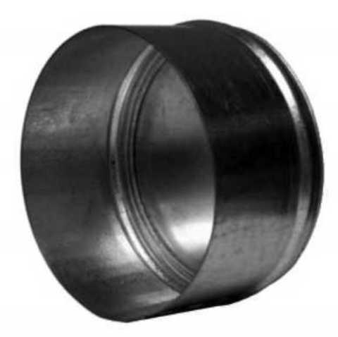 Заглушка D 125 мм оцинкованная сталь