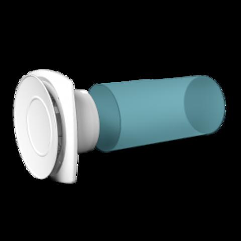 Анемостат пластиковый вытяжной Эра 10АВП