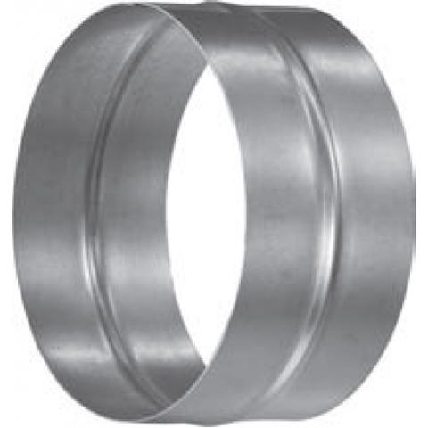 Муфта-ниппель D 80 мм оцинкованная сталь