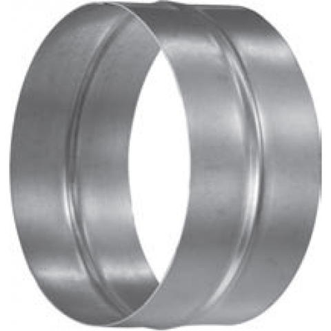 Муфта-ниппель D 100 мм оцинкованная сталь