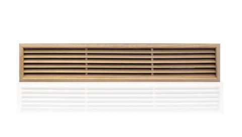 Деревянная решетка First дуб 100x550мм LGZS100550Q