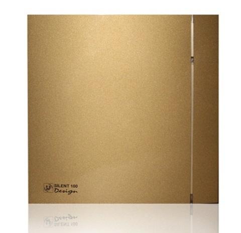 Лицевая панель для вентилятора S&P Silent 100 Design Gold