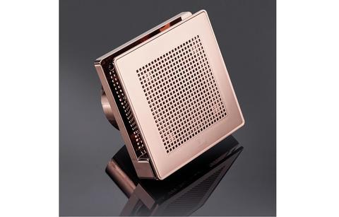 Вентилятор накладной Vortice Punto Evo ME 100/4 LL PINK GOLD (двухскоростной)
