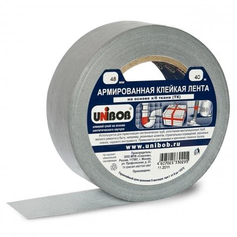 Скотч армированный 48мм (40м) Unibob