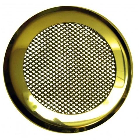 Решетка стальная на магнитах КП-120 сетка, золотая нержавейка
