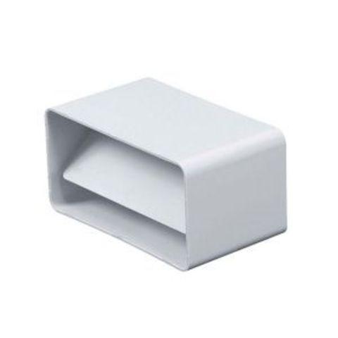 Соединитель-муфта с обратным клапаном 150х75 мм пластиковый