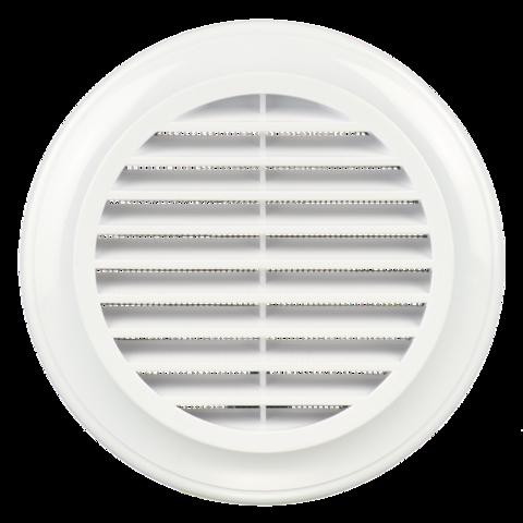 Решетка круглая Blauberg Decor 125s пластиковая