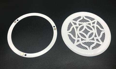 Решетка стальная на магнитах Восток-100 сетка, белая