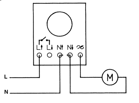 Регулятор скорости S&P Reb-2.5N (плавный)
