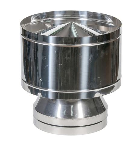 Сэндвич дефлектор 100/180 (нерж 0,5 / цинк 0,5)