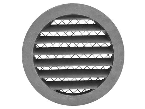 MRA80 Антивандальная алюминиевая наружная решетка Europlast 80мм
