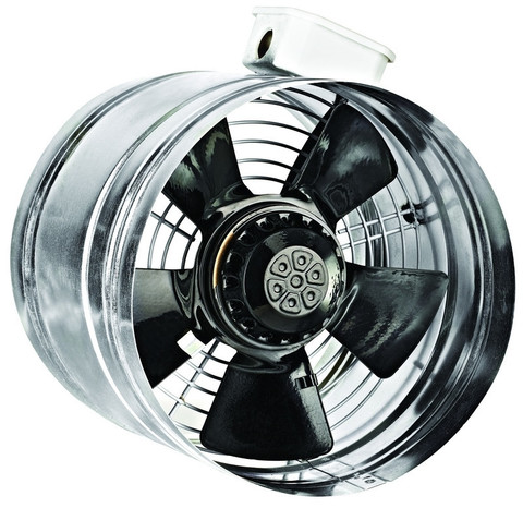Вентилятор канальный осевой Bahcivan BORAX 250-2K
