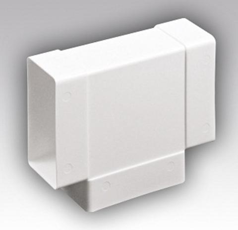 Тройник Т-образный 220х55 мм пластиковый