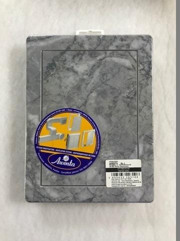 Люк пластиковый Awenta 200х250 Мрамор Серый