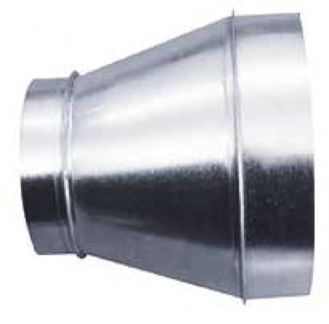 Переход 400х450 мм оцинкованная сталь
