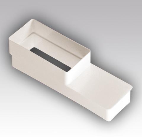 Соединитель эксцентриковый 110х55/220х55 мм пластиковый