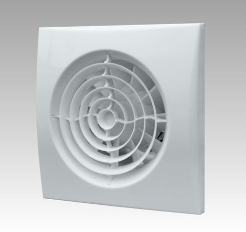 Вентилятор накладной Эра AURA 4C MR D100 с обратным клапаном (таймер)