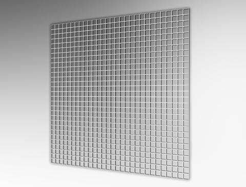 Решетка потолочная Сота 600х600 мм ВанВент П6060ДП