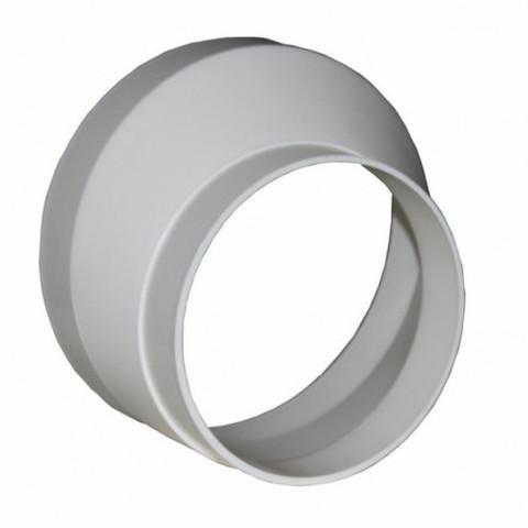 Соединитель-редуктор эксцентриковый 125х150 мм пластиковый