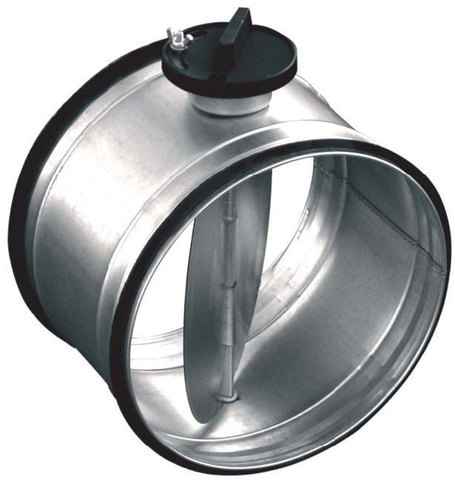Дроссель-клапан с ручным управлением Salda SK d 160 мм (Латвия)