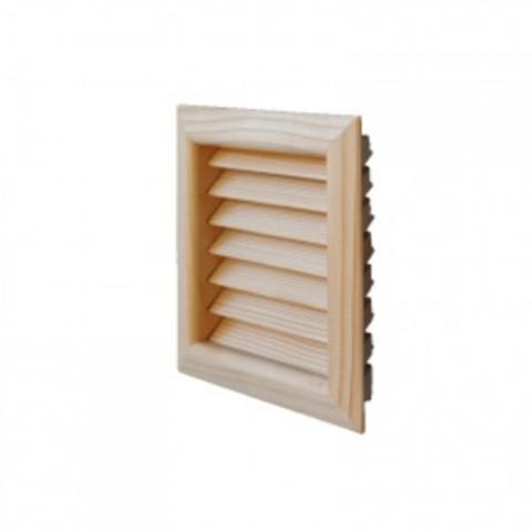Деревянная решетка First дугласова пихта 160х160мм LGES160P