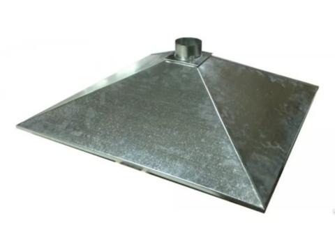 Зонт купольный 1000х600/ф200 мм