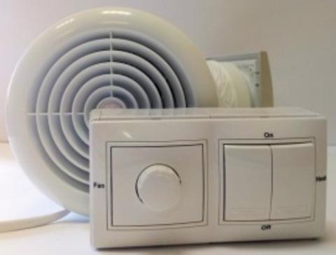Децентрализованная приточная установка Салюс TkV-03 ПС-Пл (подогрев воздуха)