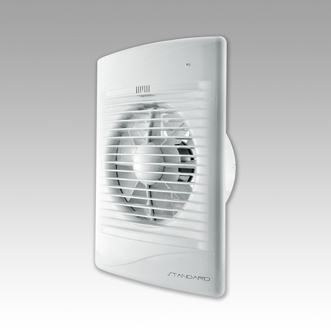 Вентилятор накладной Эра STANDARD 5 ET-02 D125 со шнурком вкл/выкл (таймер)
