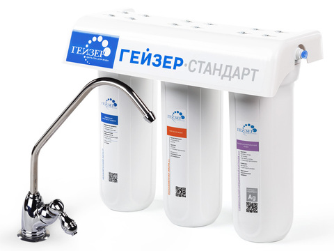 Фильтр Гейзер Стандарт для жесткой воды