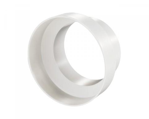 Соединитель-редуктор центральный 100х125 мм пластиковый