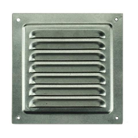 Решетка металлическая оцинкованная 300х300мм 3030МЦ