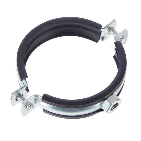 Хомут с резиновым профилем для воздуховода D 400 мм