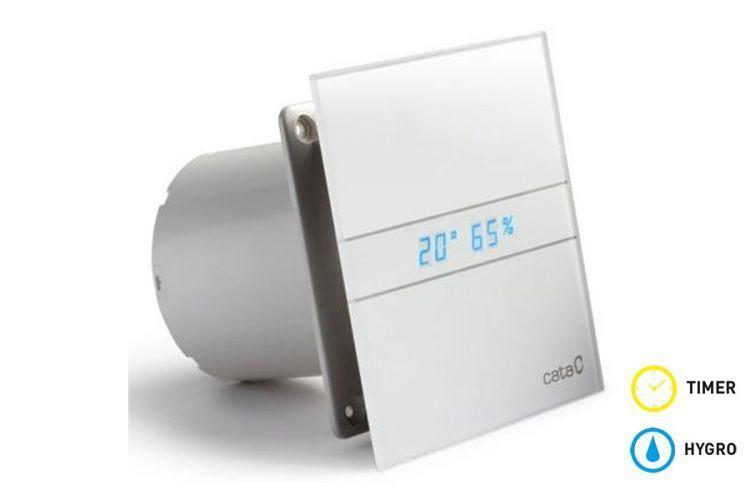 Накладные вентиляторы CATA серия G Вентилятор накладной Cata E 100 GTH с обратным клапаном (таймер, датчик влажности, термометр, дисплей) 420f92d9e096790ff2af90016d33fa1e.jpg