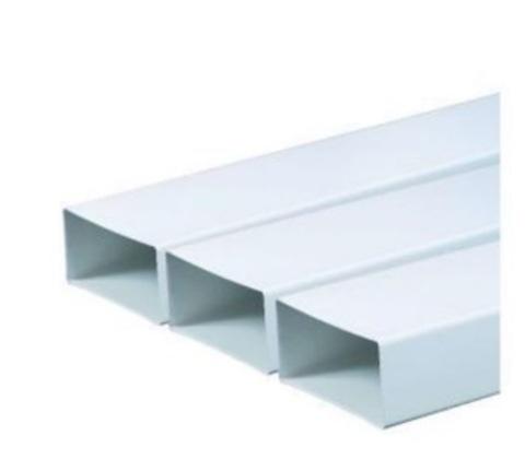 Воздуховод прямоугольный 150х75 2 м пластиковый