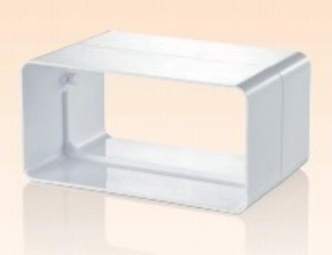Соединитель-муфта 220х90 мм пластиковый
