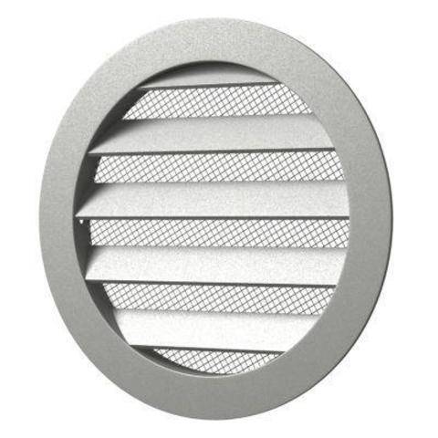 25РКМ Антивандальная алюминиевая наружная решетка Эра