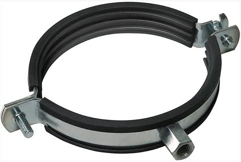 Хомут с резиновым профилем для воздуховода D 110 мм