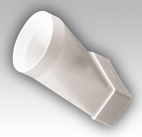 Соединитель прямой 204х60/160 мм пластиковый
