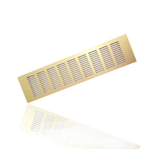 Решетка Europlast 100х400мм Золото RA1040G