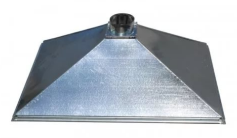 Зонт купольный 1000х600/ф315 мм