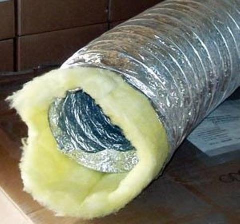 Воздуховод утепленный Diaflex ISODF 102мм (10м)