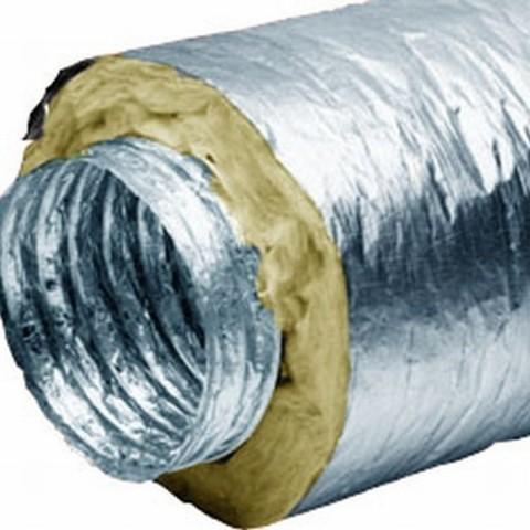 Воздуховод утепленный Diaflex ISODF 127мм (10м)