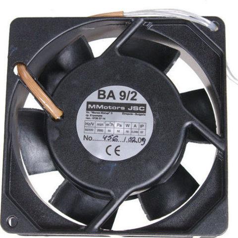 Вентилятор канальный MMotors JSC VA 9/2 T (+150°С)