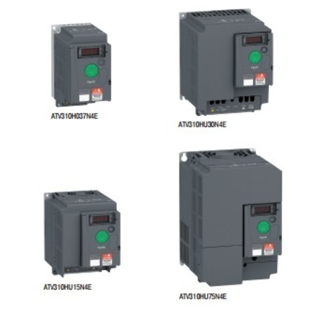 Регулятор скорости Schneider Electric ATV310HU75N4E частотный (7,5 кВт 380 В)