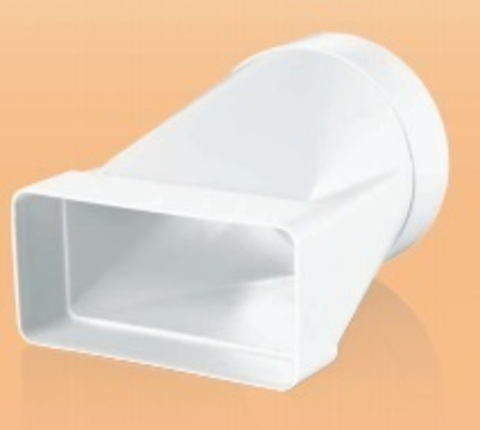 Соединитель прямой 220х90/150 мм пластиковый
