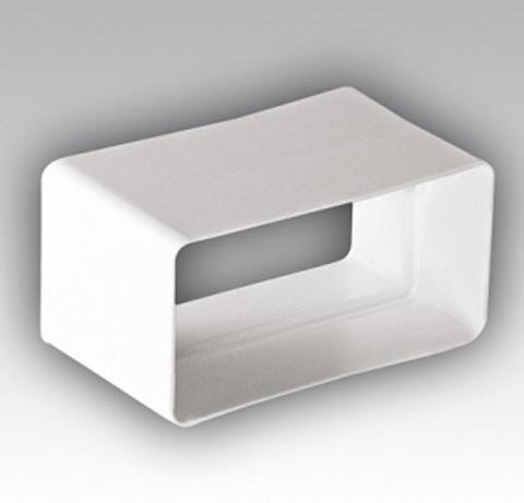 Соединитель-муфта 204х60 мм пластиковый