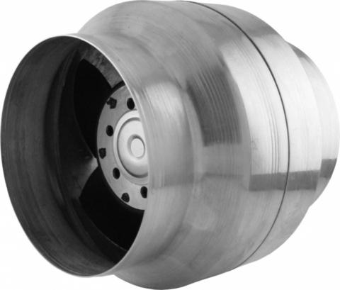 Вентилятор канальный термостойкий ВОК 135/120 Т ОК (+150°С) (для камина, саун и бань, хамам)