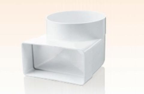 Соединитель угловой 220х90/150мм пластиковый